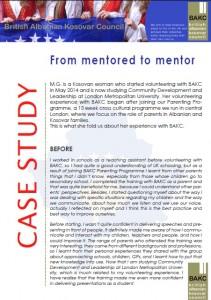 Case study - M.G.